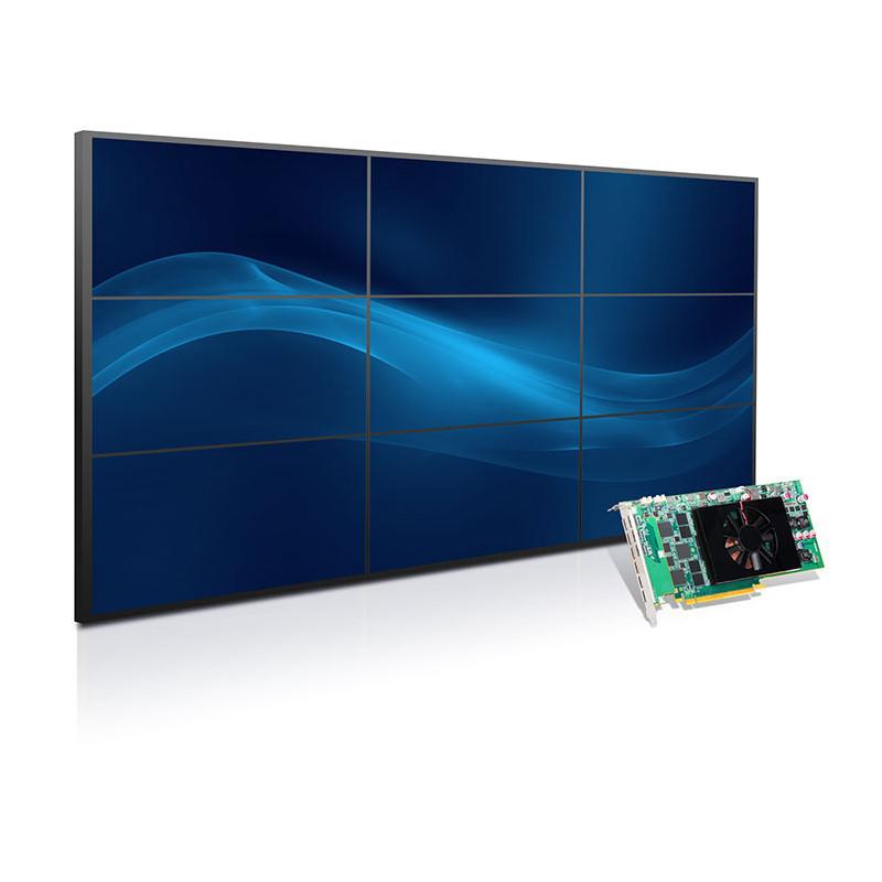 Matrox C900 , PCI Express x16 carte graphique pour 3, 6 ou 9 écrans