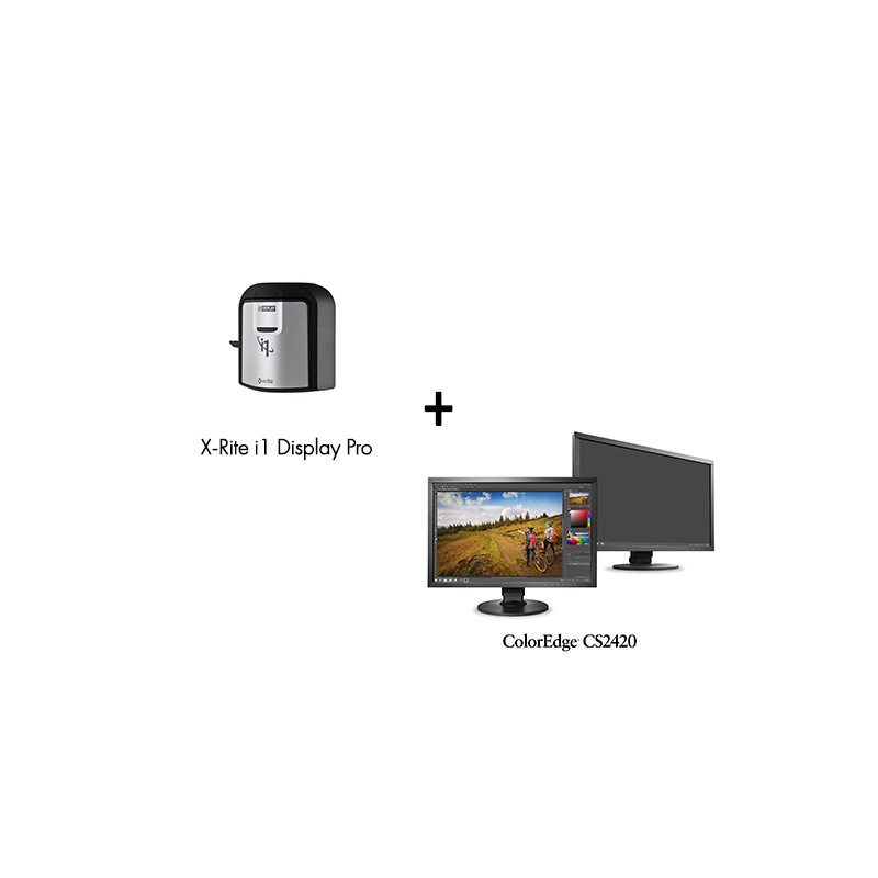 Pack Ecran ColorEdge CS2420 avec Sonde de Calibration X-Rite Eye One Display Pro