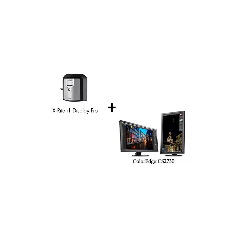 Pack Ecran ColorEdge CS2730 avec Sonde de Calibration X-Rite i1 Display Pro