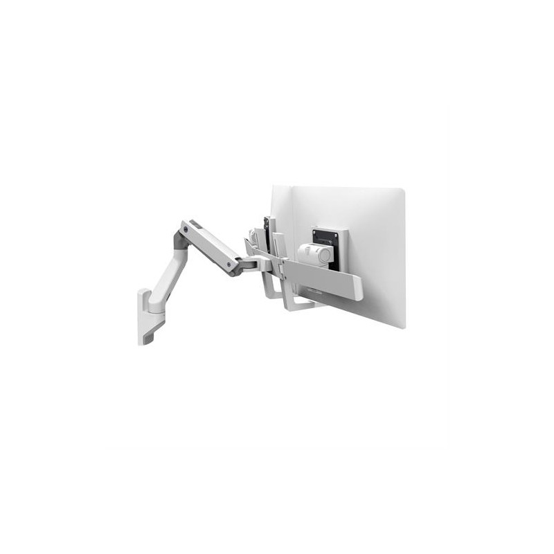 Bras HX bi-écrans blanc