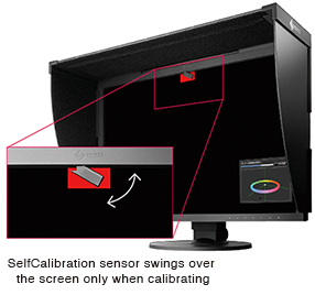 Sonde de calibrage écran graphique eizo coloredge cg2420
