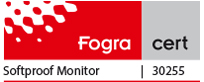 logo certification fogra écran graphique eizo coloredge cg247x