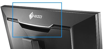 poignée arrière écran graphique eizo coloredge CG2730