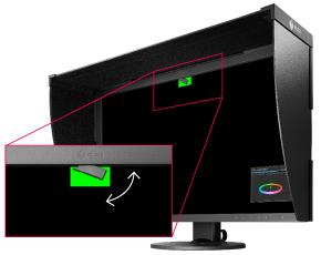 Sonde de calibrage intégrée écran graphique eizo coloredge cg2730