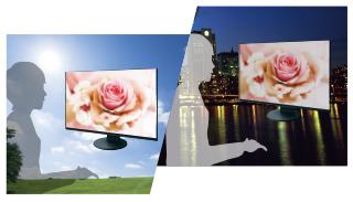 adaptation automatique de la luminosité écran bureautique eizo flexscan ev2456