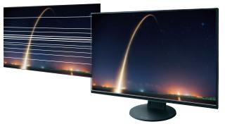 technologie anti-scintillement écran bureautique eizo flexscan ev2456