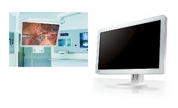 montage VESA écran bloc opératoire eizo curatoe ex3220
