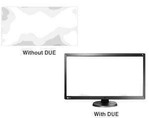 uniformisation de la dalle écran bloc opératoire eizo ls580