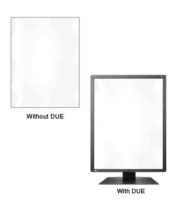 Fonction d'uniformisation de la dalle écran médical EIZO Radiforce RX250