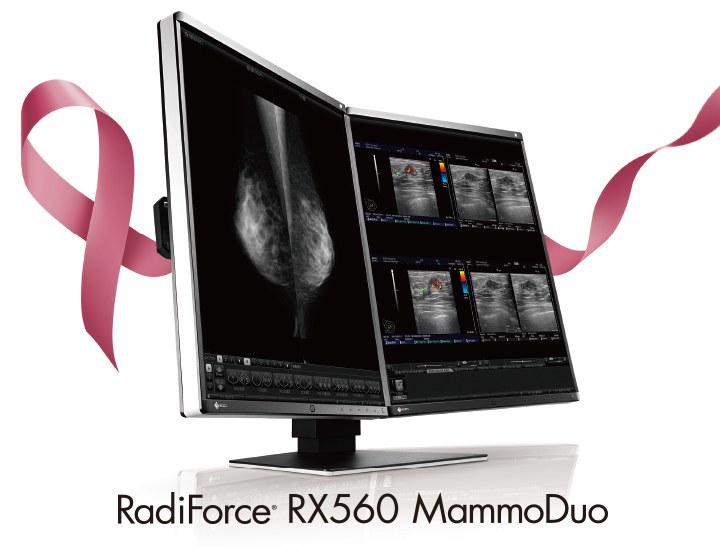 écran médical 5MP mammoduo EIZO Radiforce RX560