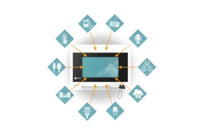 divers accessoires disponibles écran bloc opératoire eizo sp1-24