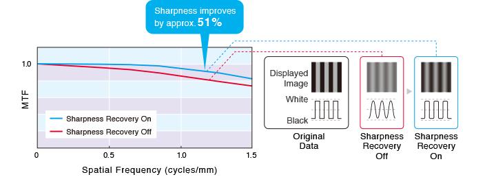 récupération de la netteté écran médical radiologie EIZO Radiforce RX660