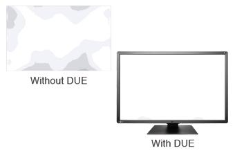uniformisation de la dalle DUE écran médical EIZO Radiforce RX660