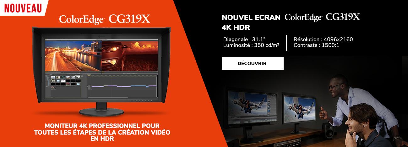 Ecran ColorEdge CG319 31 pouces 4K HDR